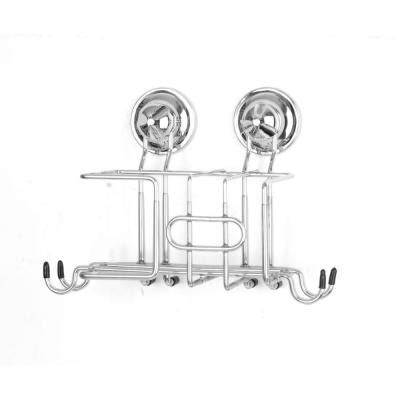 sink organizer home depot everloc kitchen sink organizer in chrome with suction cup