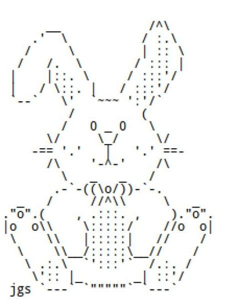25 best ideas about ascii art on pinterest 1 line ascii