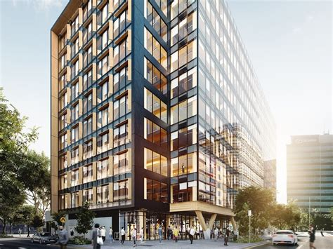 australias tallest  worlds largest engineered timber office building coming  brisbane