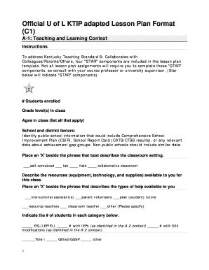 56 printable lesson plan template forms fillable sles