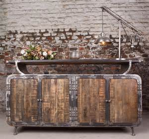 Buffet Sideboard Table Industrial Furniture Industrial Sideboard With