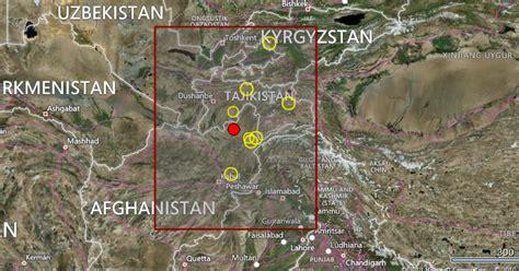 california earthquake prediction map earthquake prediction 4 4r in afghanistan