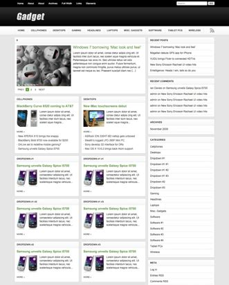 theme junkie gadget premium wordpress themes