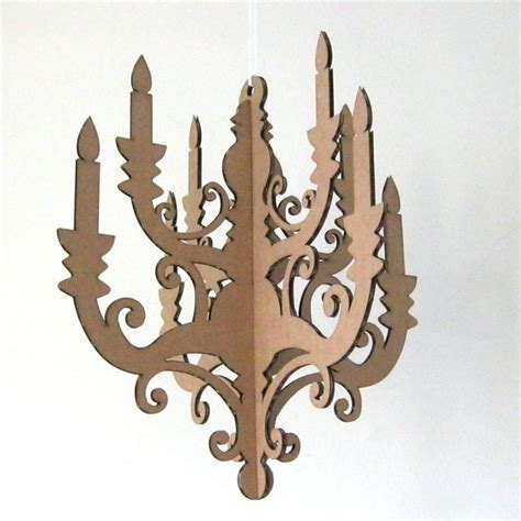 Cardboard Chandelier 301 Moved Permanently