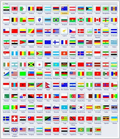 country flags country flags vector flags of all countries for free