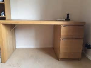 Malm Office Desk Ikea Malm Desk Oak Office Furniture Equipment Office Furniture Equipment