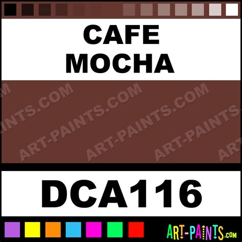 cafe mocha crafters foam and styrofoam paints dca116 cafe mocha paint cafe mocha color