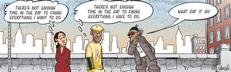 Not Enough Time In candorville daily comics by darrin bell september 14 2013