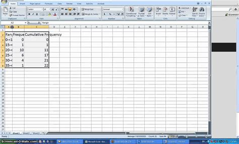 Frequency Distribution Table Excel make relative frequency distribution table excel