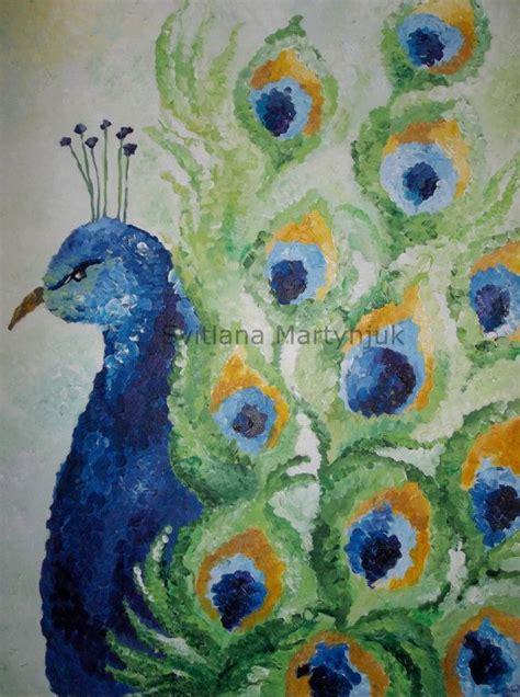 original watercolor painting peacock painting peacock peacock original acrylic painting