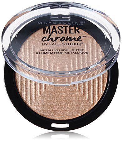 Maybelline Chrome Highlighter maybelline master chrome metallic highlighter in molten