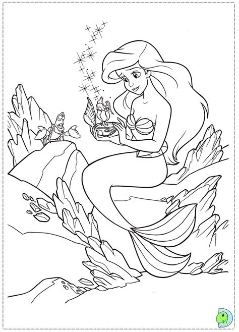 frozen mermaid coloring pages the mermaid coloring page dinokids org