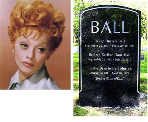 lucille ball s death certificate cause of death was acute 1000 images about 1 gravestones on pinterest jim