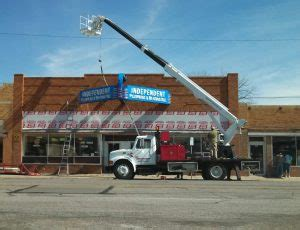 Independent Plumbing by Neon Signs Ferguson Sign Inc
