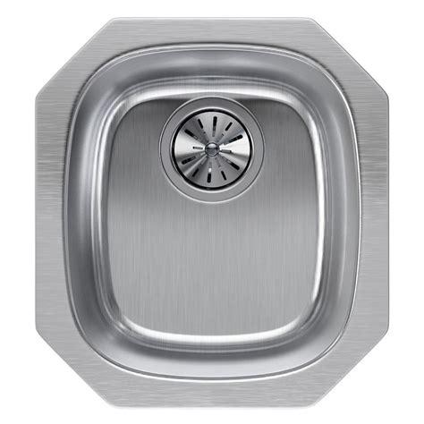 14 stainless steel kitchen sink elkay lustertone undermount stainless steel 14 in single