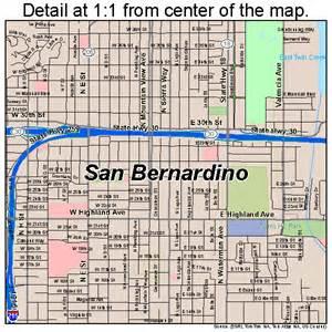 san bernardino california map 0665000
