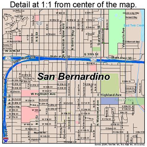 San Bernardino Ca Search San Bernardino California Map 0665000