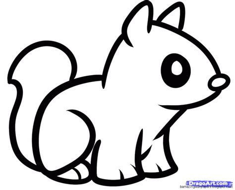 Cute Easy Animal Drawings Amazing Wallpapers Easy Drawing For