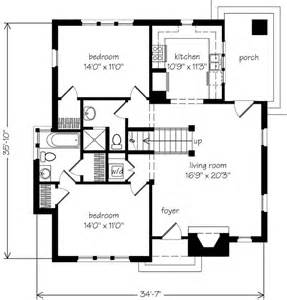 cottages floor plans design white picket fences november 2010