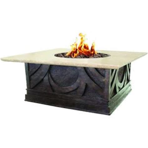 home depot pit table bond manufacturing avila 40 in square envirostone and