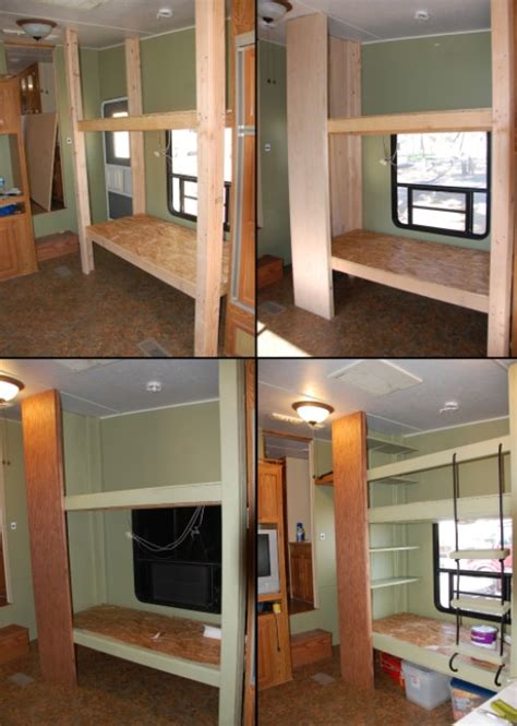Rv Bunk Beds by Rv Remodel More Pics The Lundy 5