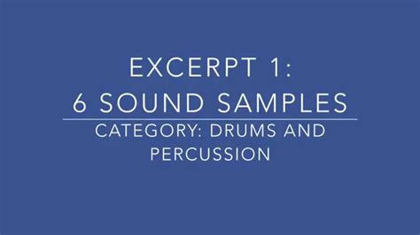 how to pass national sound excerpts loops for how to pass national 5 music youtube