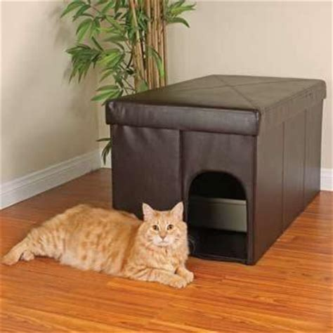 cat litter box furniture options