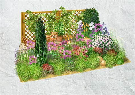 Bambus Garten Pflanzen Kölle by Obi Ureditev Mediteranskega Vrta Načrt Gred Obi
