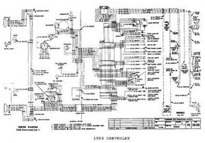 electrical wiring diagram for 1956 chevrolet passenger car