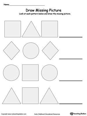 dot pattern homework early childhood educational resources lessons worksheets