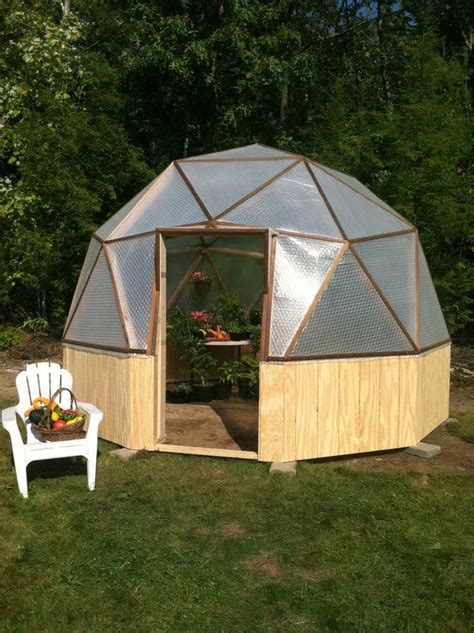 A 14 Foot Wide Geodesic Biodome I M In Love Backyard Greenhouse Kit