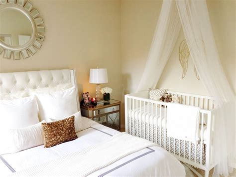 nursery layout with double bed baby vienna s nursery tour mamaroo giveaway master