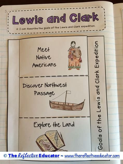 free printable lesson plans on lewis and clark lewis and clark upper elementary and create a map on