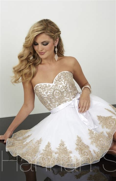 hannah   strapless sweetheart dress prom dress
