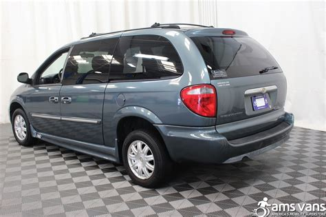 used chrysler vans 2005 chrysler town and country wheelchair for sale
