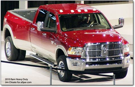 2010 2012 Dodge Ram 2500/3500 Heavy Duty pickup trucks