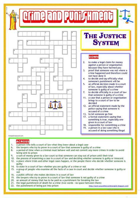 printable criminal justice worksheets worksheet criminal law worksheets hunterhq free