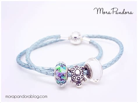 light blue leather review light blue leather bracelet from pandora mora