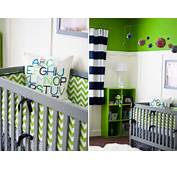 And Green Baby Nursery Comfortable With Black Crib White