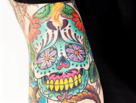 day of the dead woman tattoo meaning all about tattoo
