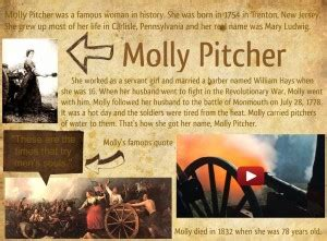 Molly Pitcher Quotes