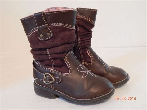 toddler cowboy boots size 7 toddler boots size 7 genuine brand brown