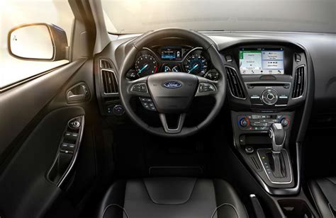 ford focus interior 2016 2016 ford focus model options and prices