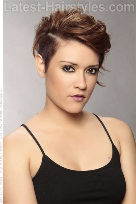 edgy hairstyles in your 40s 22 sexy and flattering short hairstyles for women over 40