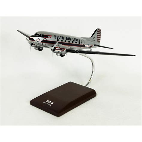 commercial model planes dc 3 delta model aircraft 1 72 scale commercial model
