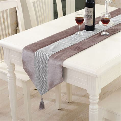sofa table runners modern table runner flannel table marriage runners