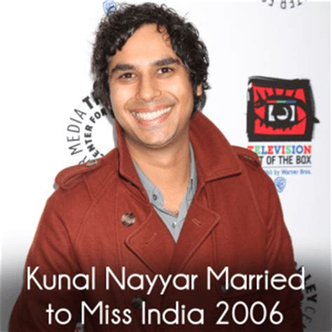 Miss Maroon India kunal nayyar married miss india 2006 maroon 5 quot one more