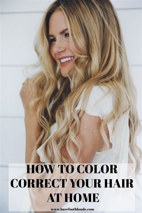 how to color correct hair how to color correct maintain your hair color at home