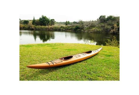 Handmade Wooden Kayak - cedar handmade wooden kayak 2 persons gonautical
