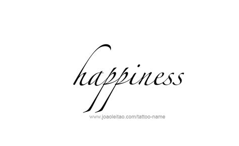 happiness tattoos happiness feeling name designs tattoos with names